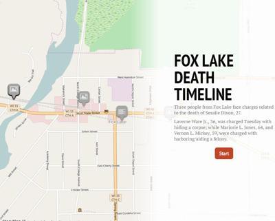 FOX LAKE DEATH HEAD PHOTO