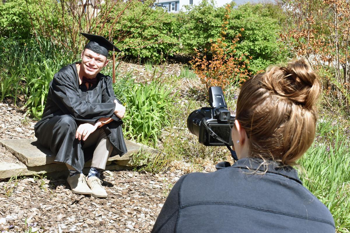 Graduation photos in Portage