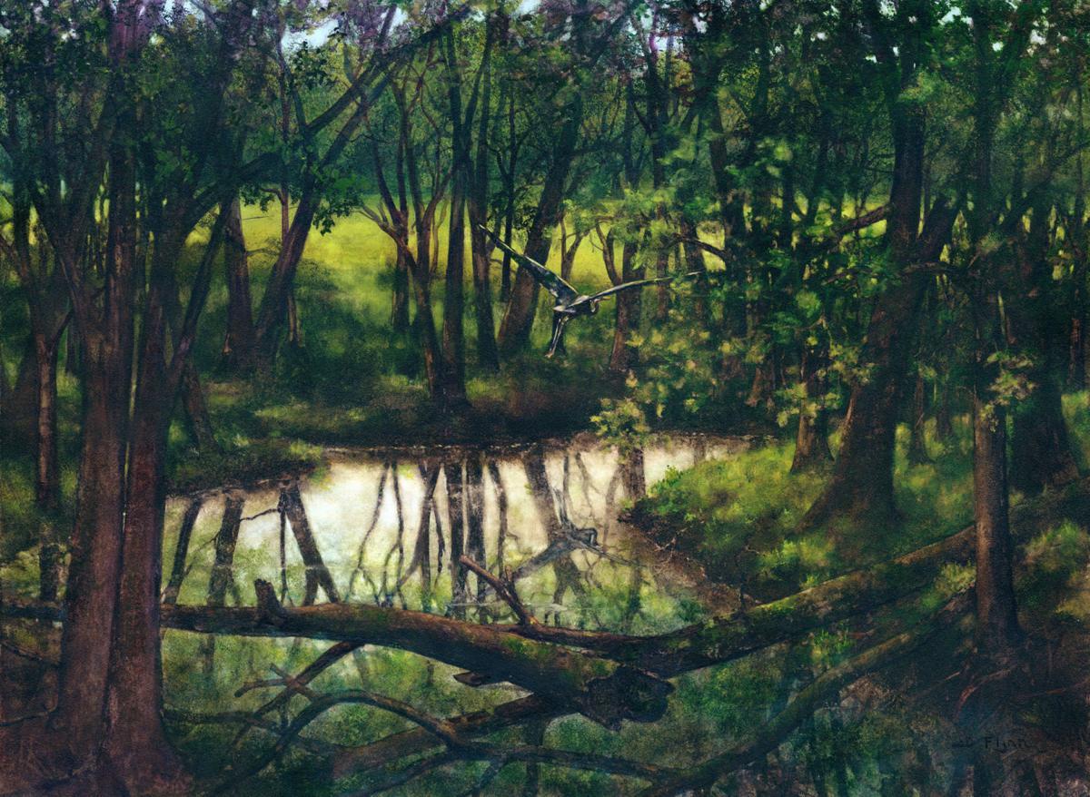 """""""Copper Creek"""" by Janet Flynn"""