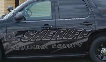Columbia County Squad Car tight crop