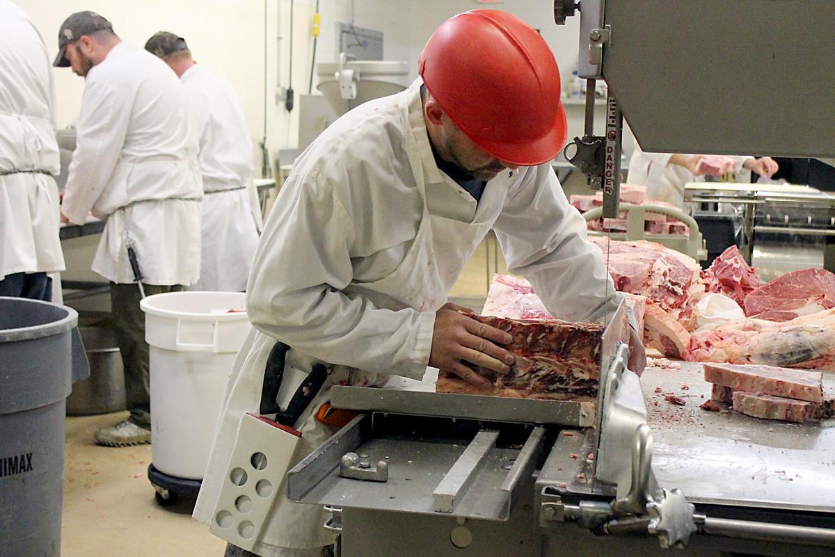 Cutting steaks