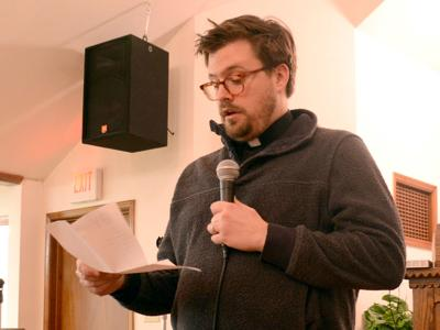West Baraboo shelter organizers answer questions during open house