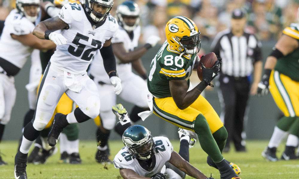 Should Eddie Lacy Get a Lambeau Leap?