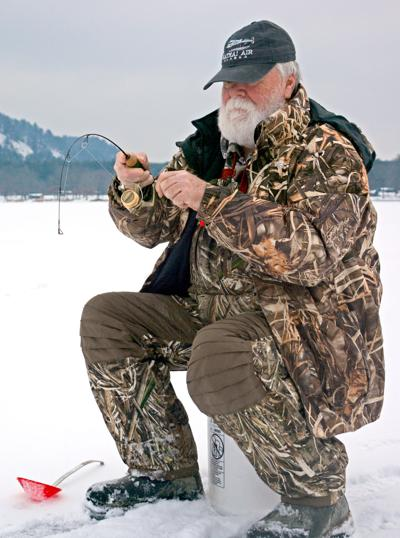 Cold weather creates right conditions for ice fishing at