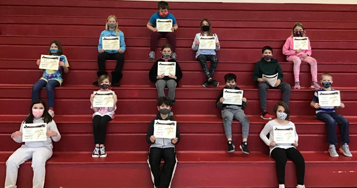 """Students recognized for trustworthiness """"B"""""""