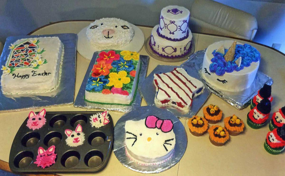 Remarkable Konkels Kids Korner Cake Decorators Bring Home Awards From Dodge Funny Birthday Cards Online Hendilapandamsfinfo