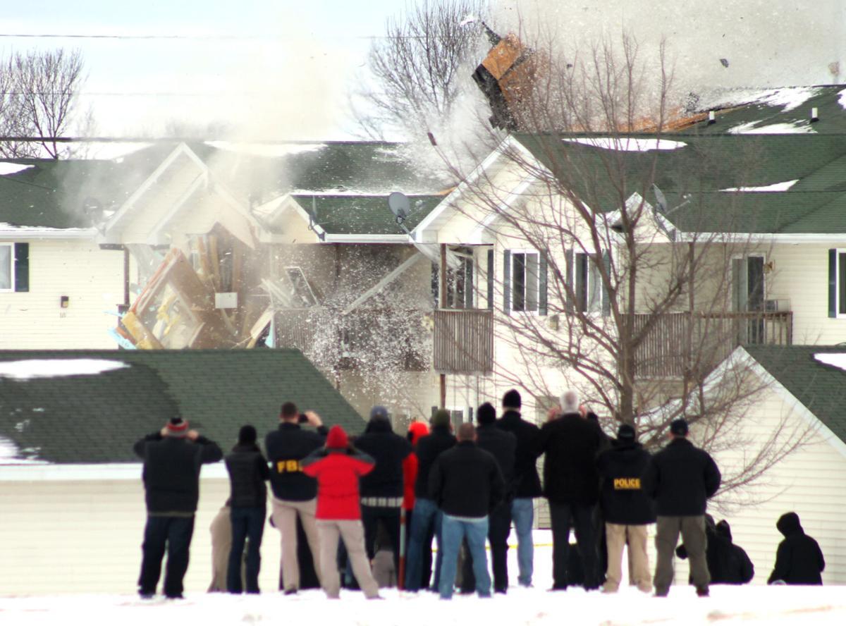 Apartment explosion 2