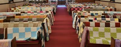 200 quilts to be donated at Reedsburg Touched Twice Clinic