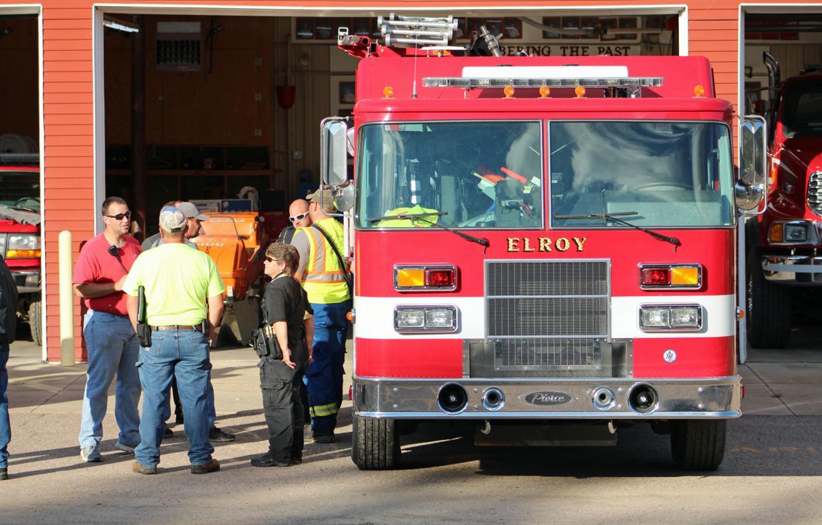 Elroy fire truck