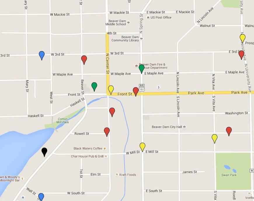 Map: Latest Beaver Dam police reports | Regional news