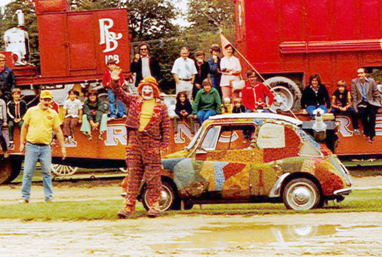 Perfect A Fan Favorite: Rug Bug Returns To Big Top