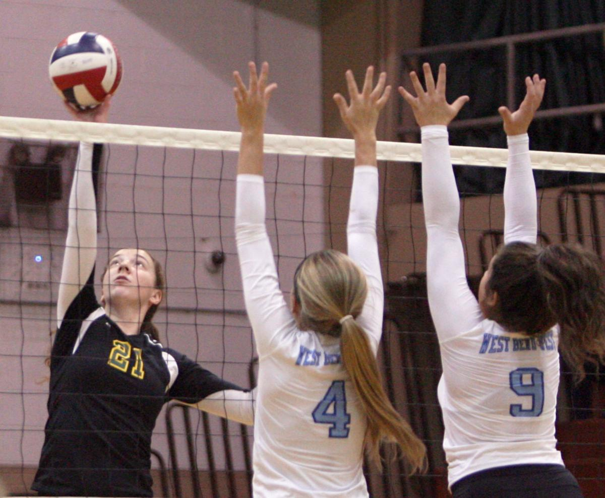 Prep Girls Volleyball Bd Loses In Straight Sets To West -7678