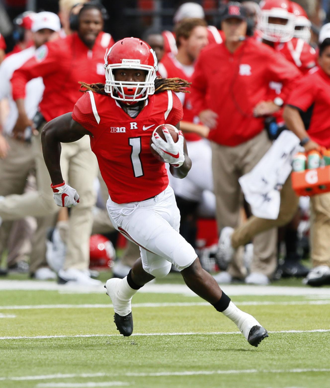 Janarion Grant, WR, Rutgers | | wiscnews.com