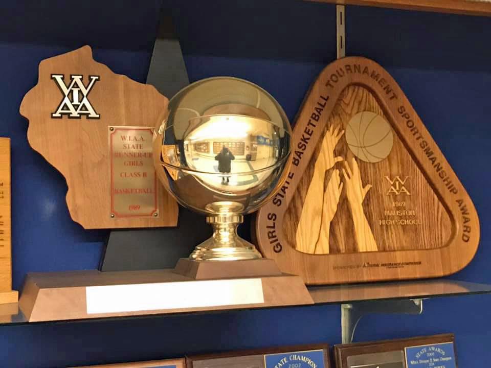 1988-89 Mauston girls basketball team accolades