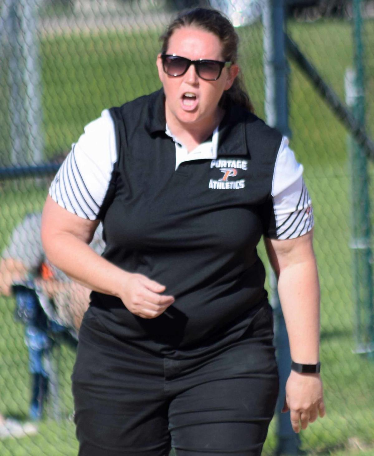 Portage coach Connie Wampler (copy)
