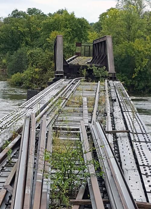 Sauk City Railroad Bridge