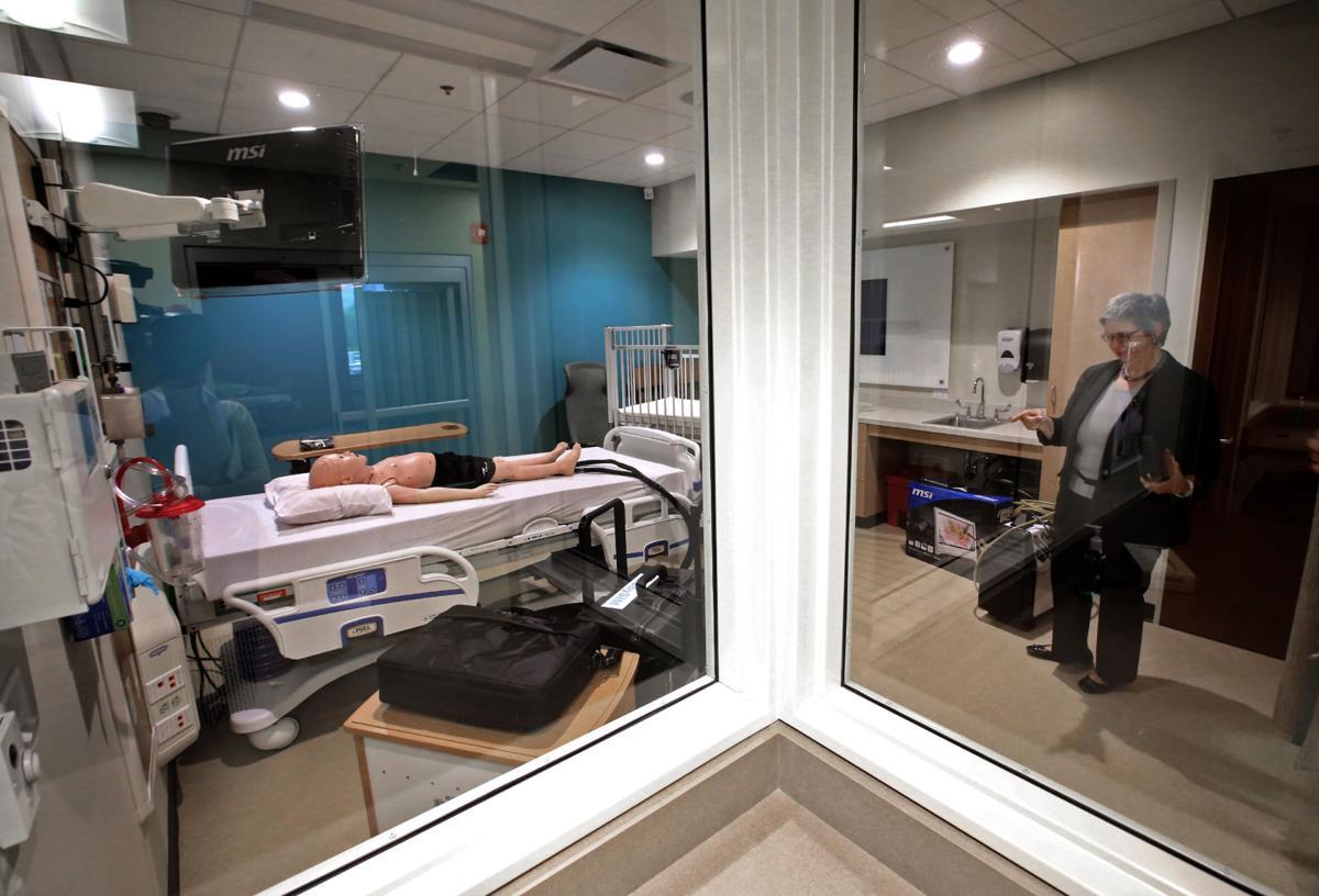 Nurse simulation room