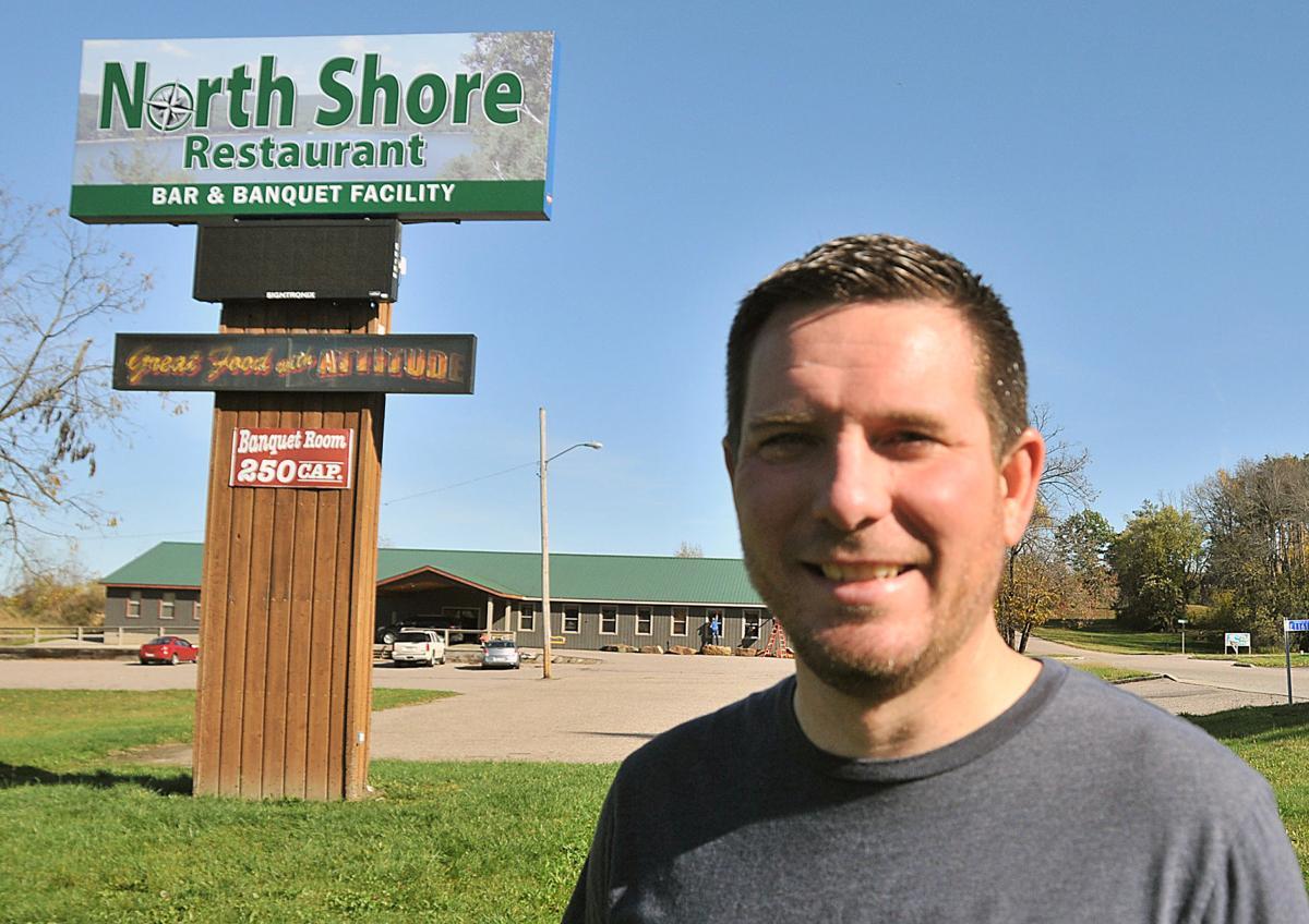 Zach Ziegler at North Shore