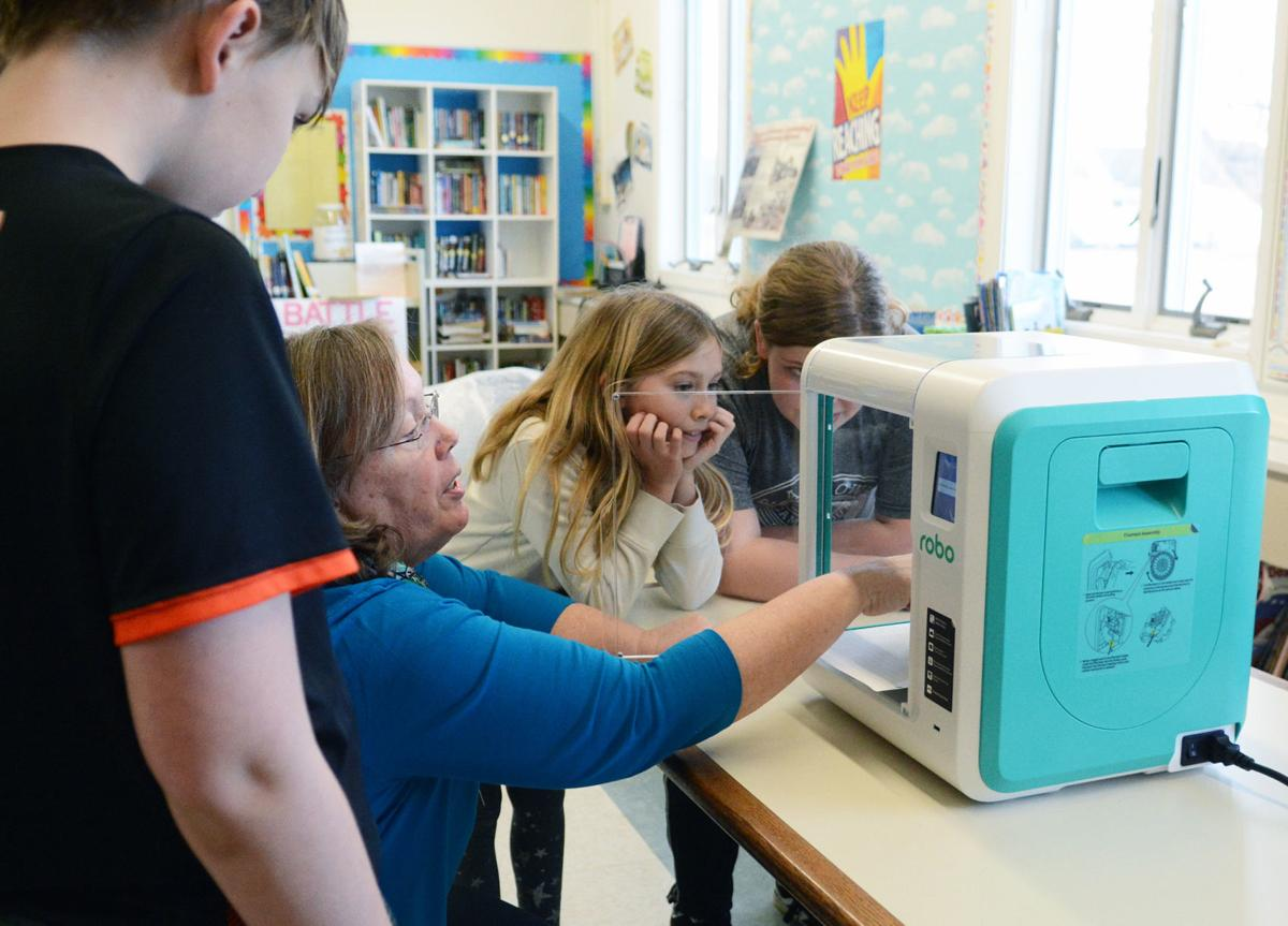 Lewiston Elementary 3D printer (copy)