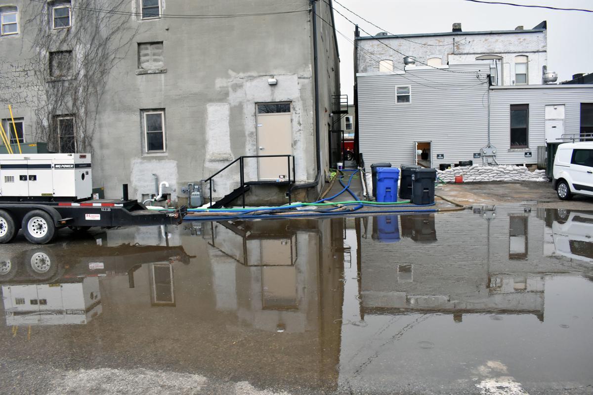 Lodi flooding Main Street
