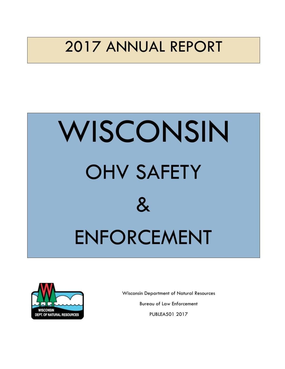 2017 DNR ATV report