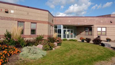 Portage High School building