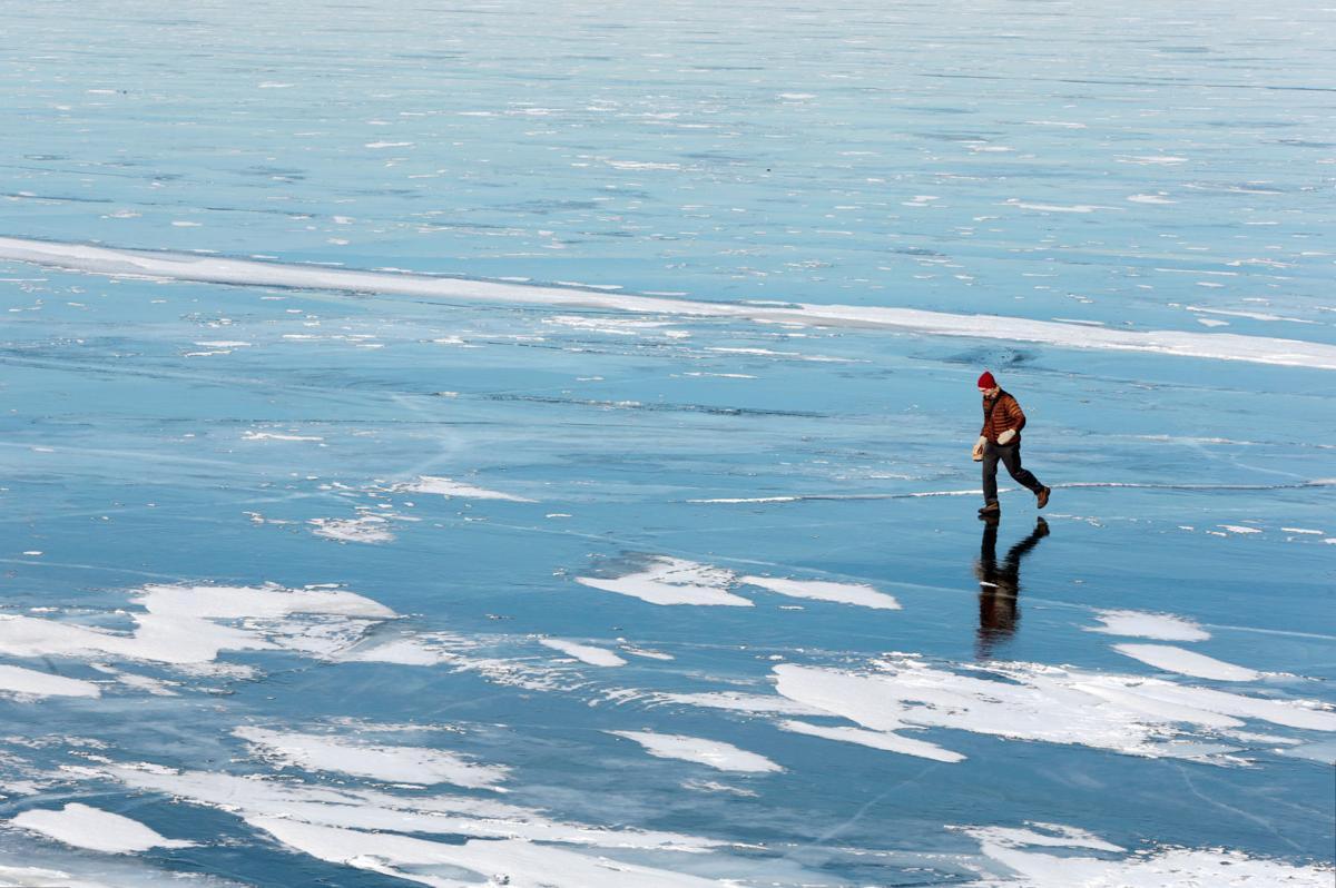 Frozen Lake Mendota