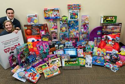 150 toys collected for Toys for Tots