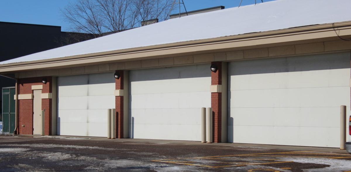 Reedsburg Police Department garage