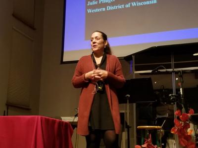Human trafficking presentation draws large crowds
