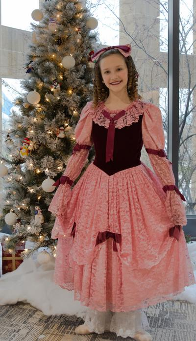 Pease to perform as Clara in The Nutcracker