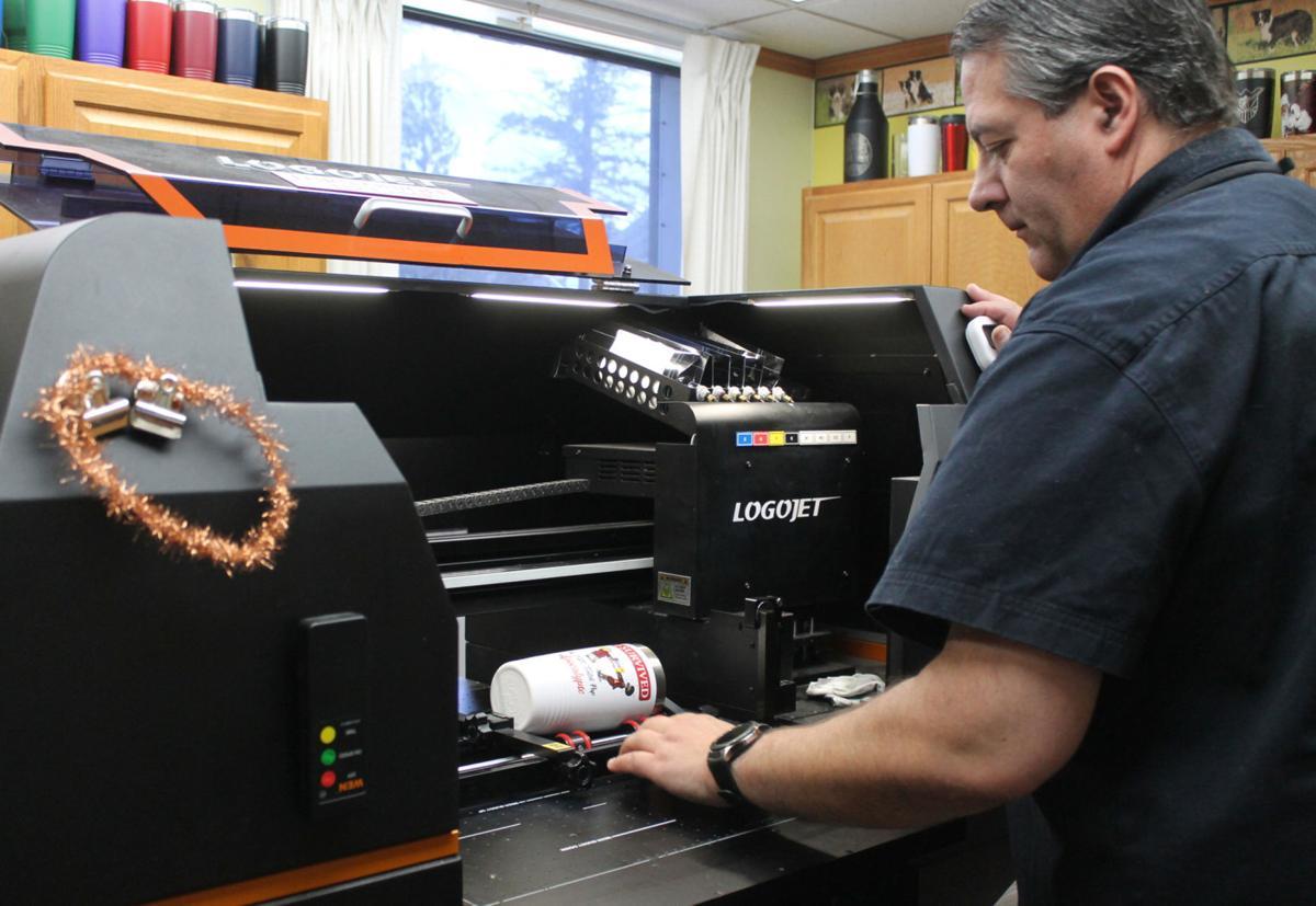 Printing a tumbler