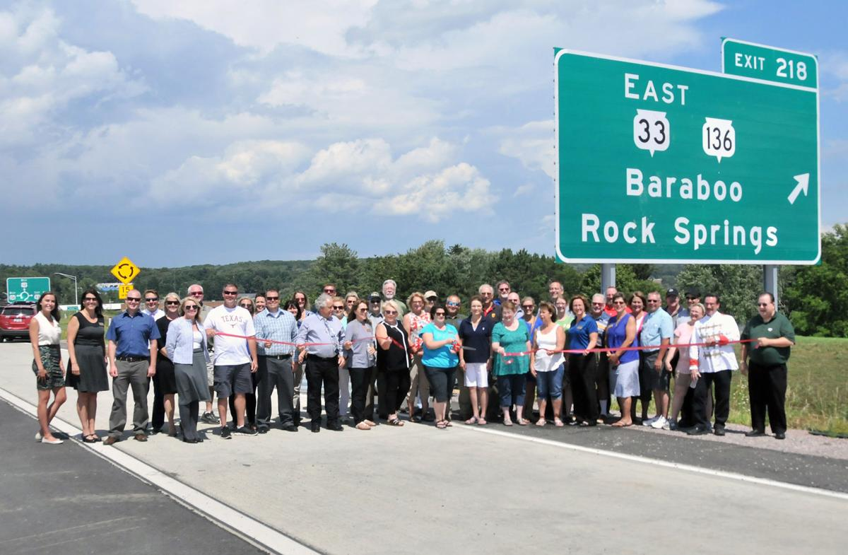 U.S. Highway 12 bypass ribbon cutting (copy)