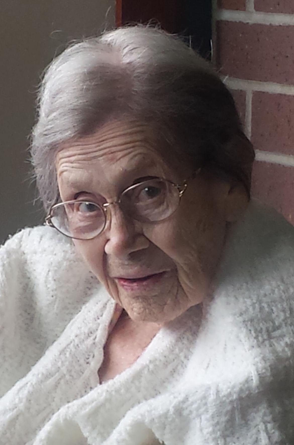Bertha A. Briesemeister, 103 ½, Rio