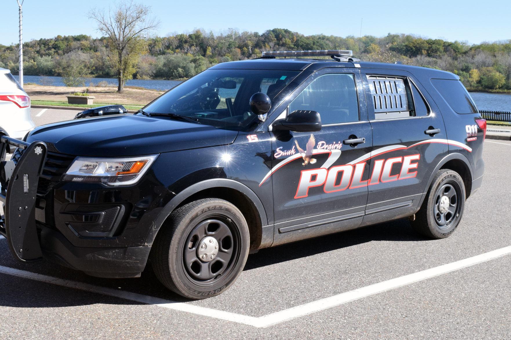 Sauk Prairie Police Department squad car