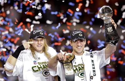 Clay Matthews, Aaron Rodgers Super Bowl Title 2010