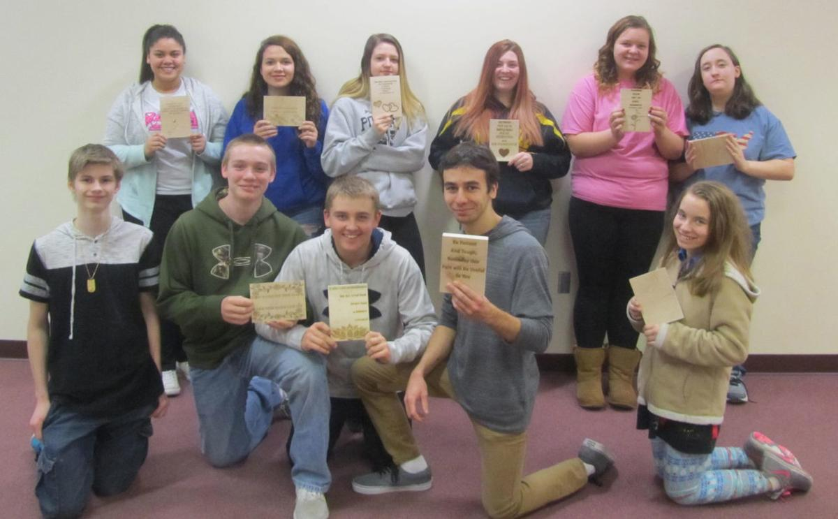 Westfield Tech Ed students send words of encouragement
