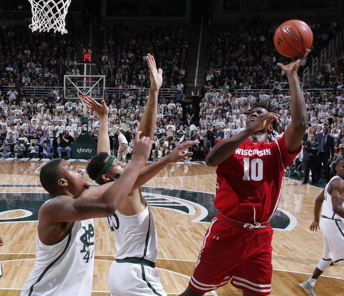 Wisconsin Michigan St Basketball