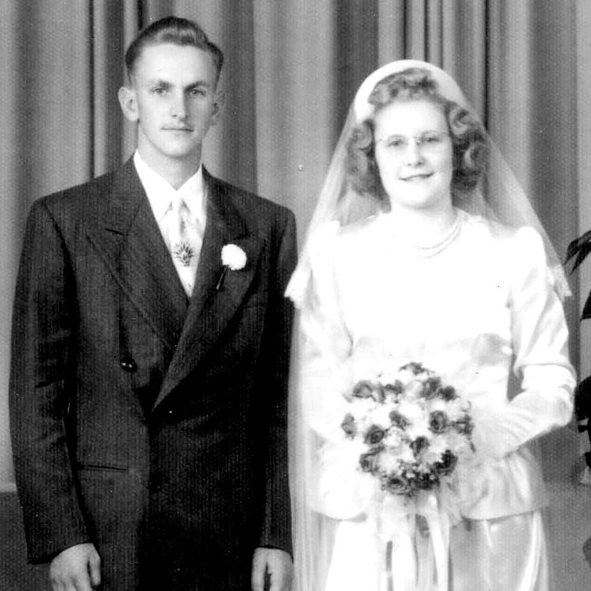 John and Evelyn Hoffman