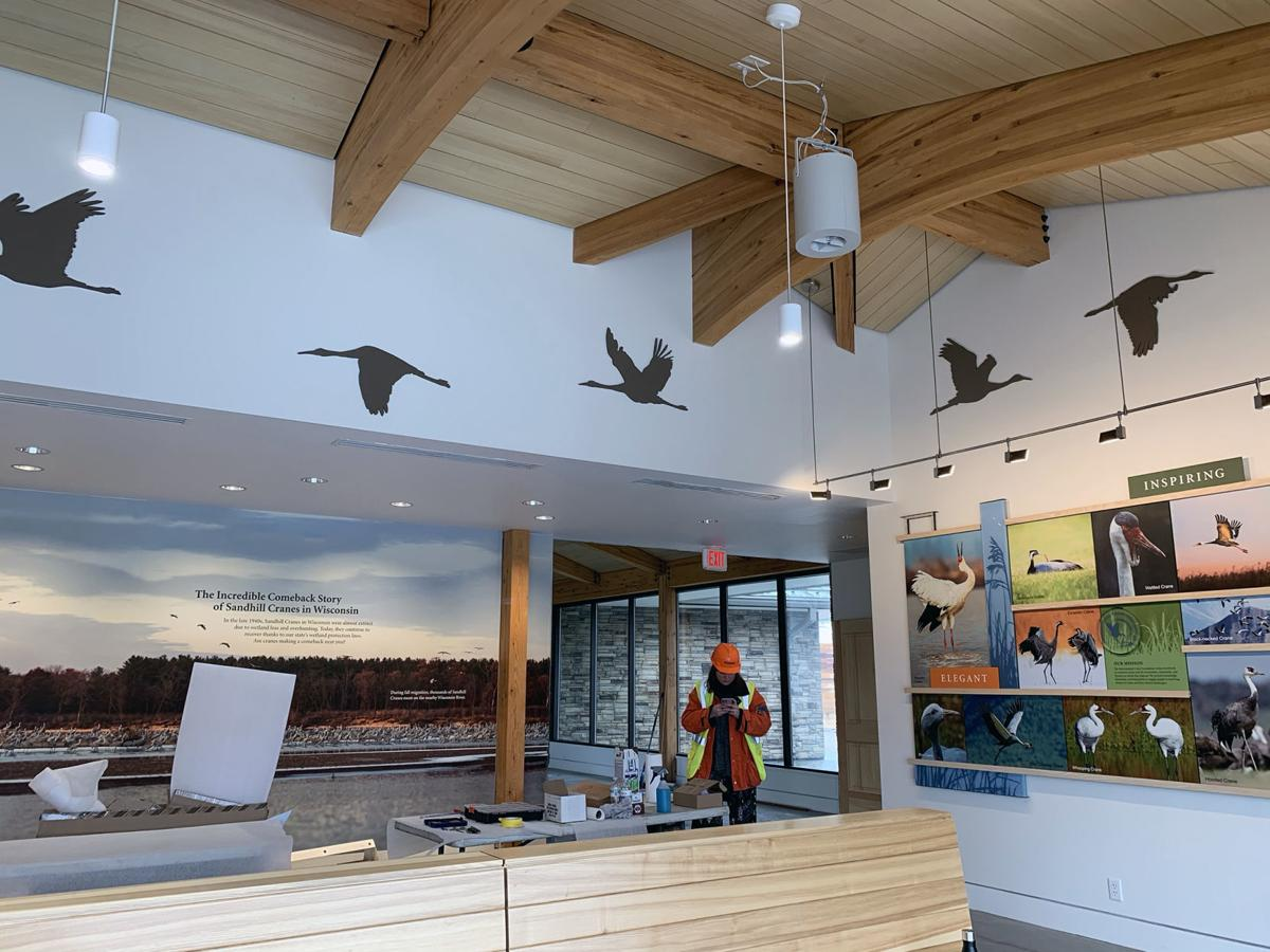 International Crane Foundation's new George Archibald Welcome Center