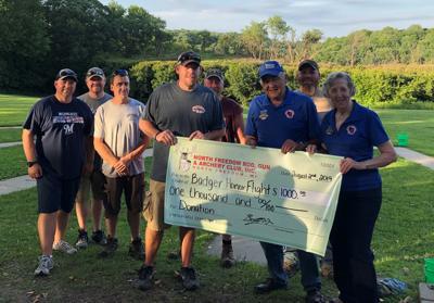 Rod and Gun Club donates $1,000 to Badger Honor Flight