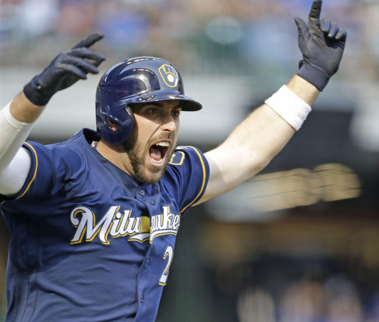 Brewers Blow Late Lead, Lose In 10