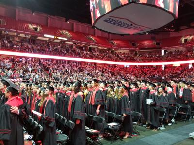 UW-Madison fall 2018 commencement ceremony