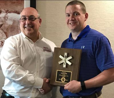 Kowalke honored for EMS service