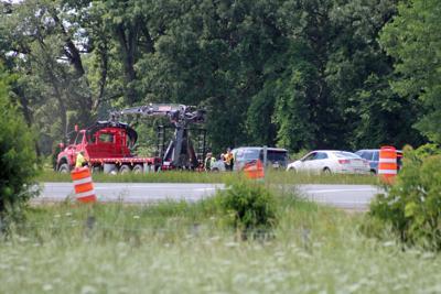 Road maintenance worker killed