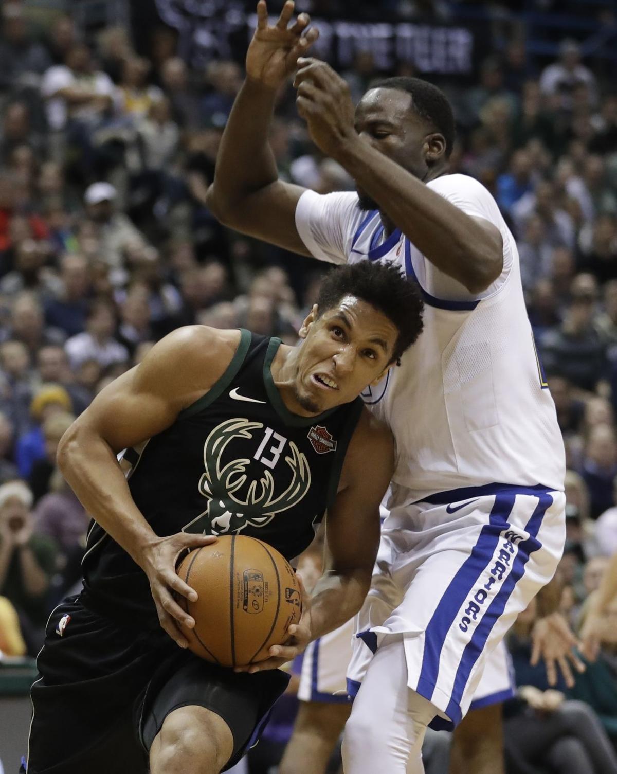 Warriors Bucks Basketball