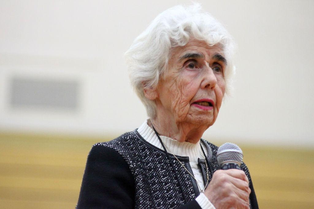 Renata Laxova, who escaped Nazis  and communists in the former Czechoslovakia