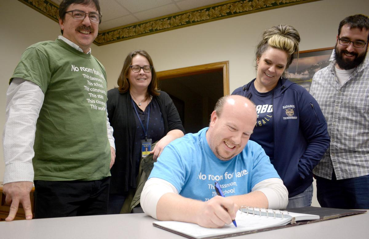 Baraboo  teachers raise funds