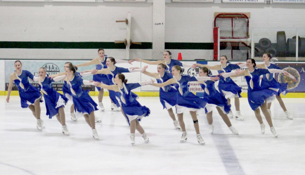 Midwest ice skaters bring their best to Swan Syncro Skate