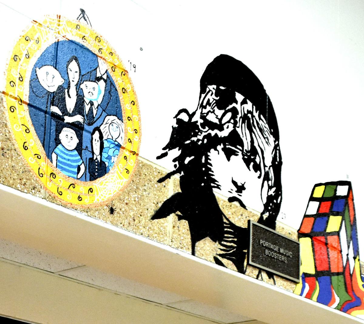 Portage paintings
